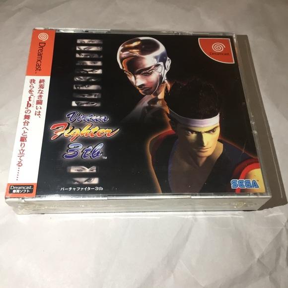 Dreamcast virtua fighter 3tb